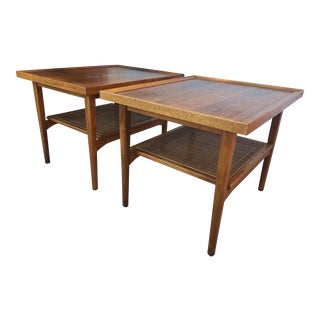1970s Mid Century Modern Drexel Declaration Side Tables - a Pair For Sale