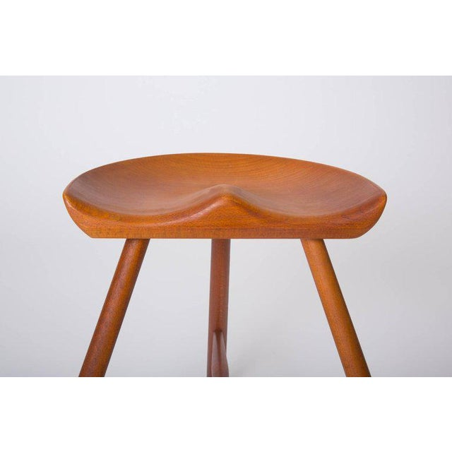 Danish Modern Milking Stool For Sale - Image 9 of 10