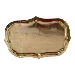 20th Century Traditional Brass Tray For Sale