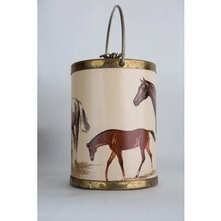 Vintage Equestrian Wine Bucket Preview