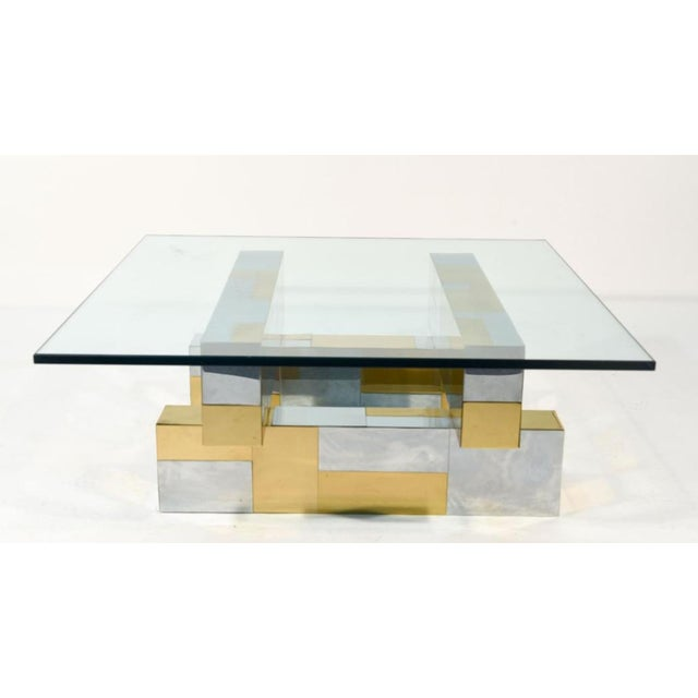 Paul Evans Cityscape Coffee Table - Image 2 of 4