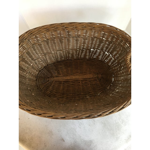 Oval French Patina Basket - Image 3 of 7