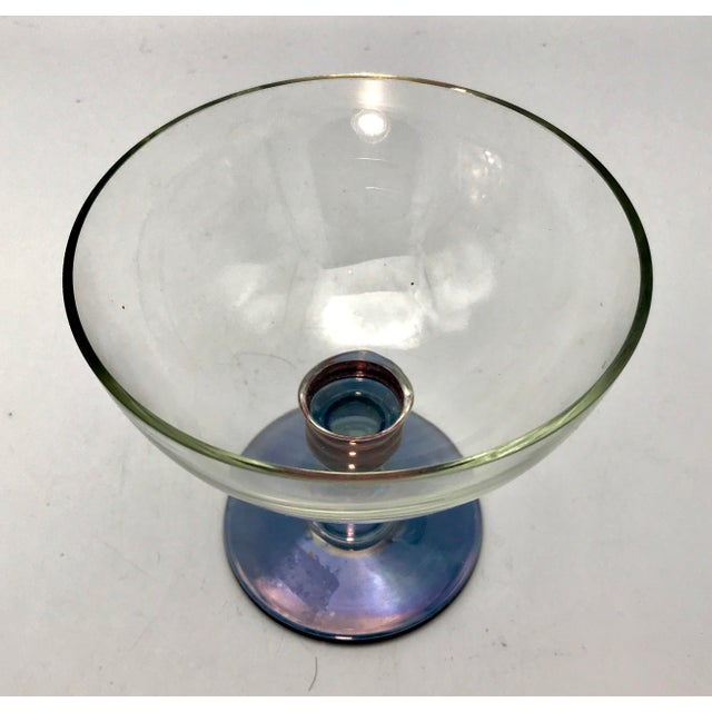 Contemporary 1960s Vintage Mid-Century Modern Italian Cristallerie Bowl For Sale - Image 3 of 8