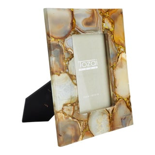4 X 6 Agate Picture Frame For Sale