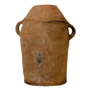 Antique Moroccan Terracotta Butter Churn For Sale