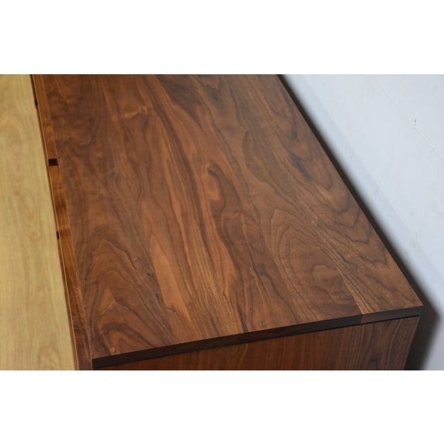 Atlantico Walnut Dresser Credenza - Image 8 of 11