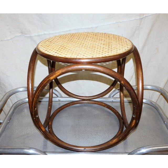 Michael Thonet Secessionist-Style Stool - Image 2 of 4