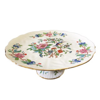 English Aynsley Pembroke Cake Plate For Sale