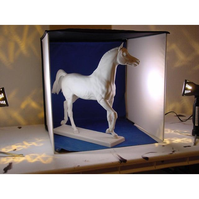 1960s Vintage Arabian Horse Sculpture For Sale - Image 12 of 13