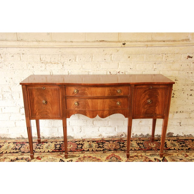 Federal Style Flame Mahogany Sideboard - Image 3 of 11