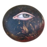Image of Antique Chinese Geisha Face Powder Box For Sale