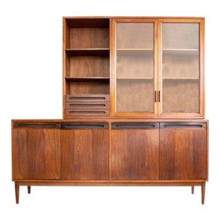 Rare Directional Calvin Furniture Bar Credenza by Kipp Stewart and Stewart McDougall For Sale