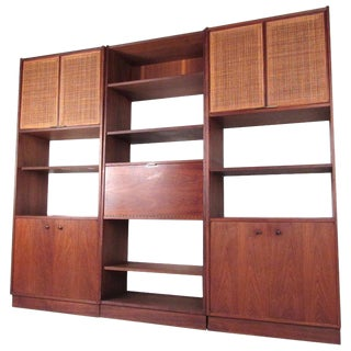 Mid-Century Modern Wall Unit or Bookshelves For Sale