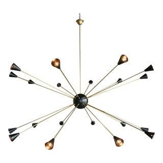 1970s Italian Sputnik Light For Sale
