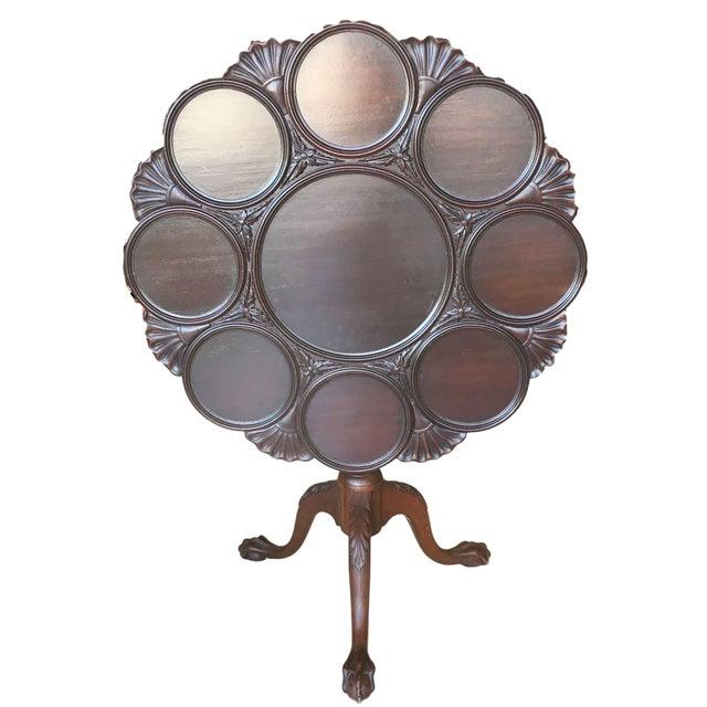 Kittinger Tilt-Top Piecrust Table For Sale