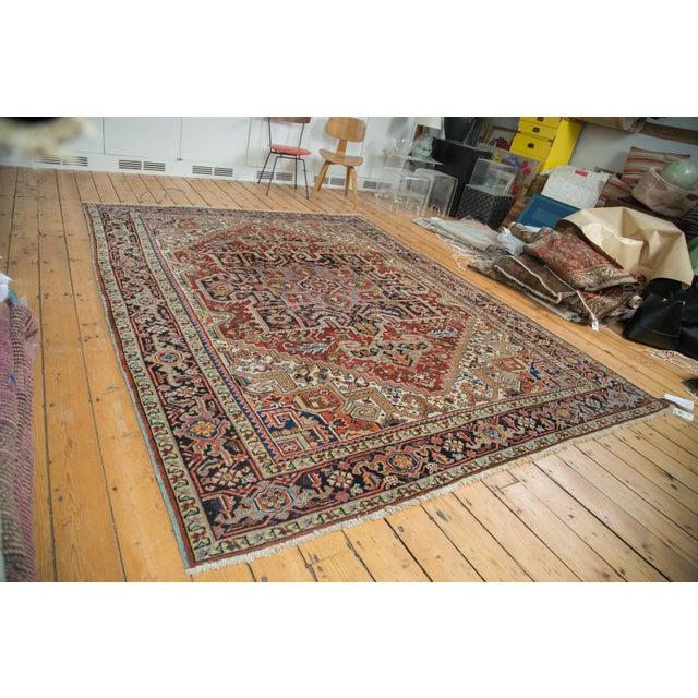 "Vintage Heriz Carpet - 8'2"" X 10'4"" - Image 2 of 10"