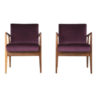 Set of Jens Risom Lounge Chairs (On Hold)
