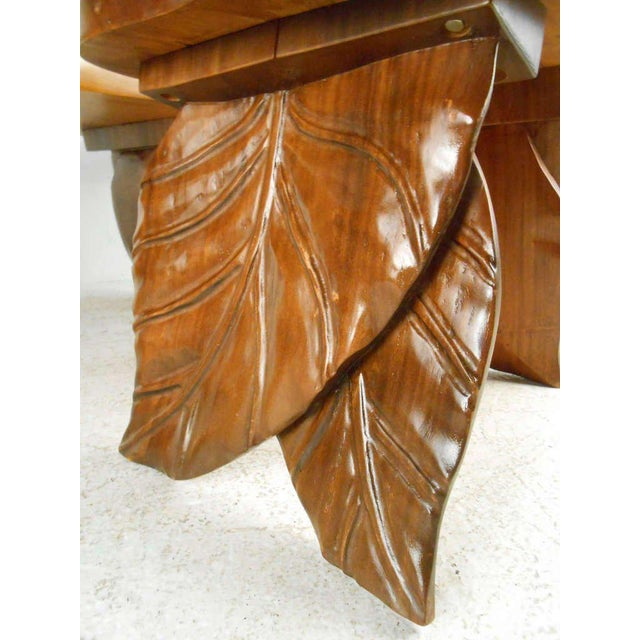 Contemporary Vintage American Carved Tables - Set of 3 For Sale - Image 3 of 6