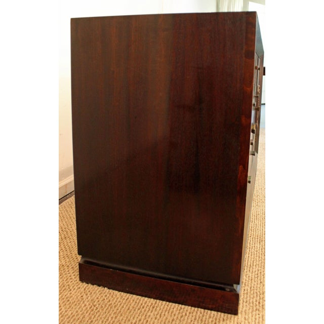 Brown James Mont Mid-Century Asian Modern Ming-Style Mahogany Credenza For Sale - Image 8 of 11