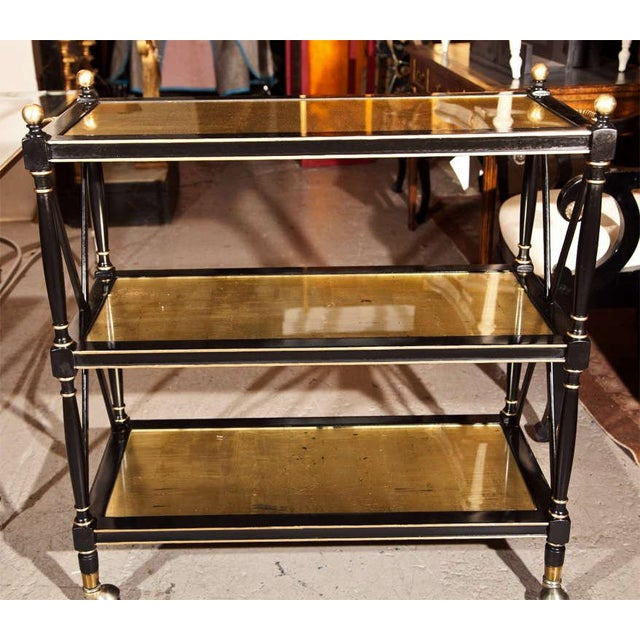 Maison Jansen Three-Tier Serving Cart - Image 5 of 8