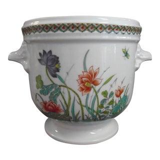 Porcelaine De Paris Cachepot For Sale