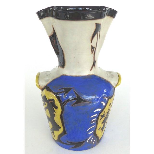 Jean Lurçat French Mid-Century Ceramic Vase 22/50 For Sale - Image 10 of 13