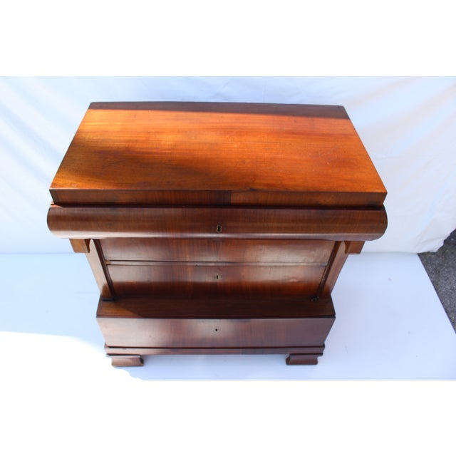 Biedermeier Small Chest of Drawers - Image 8 of 11