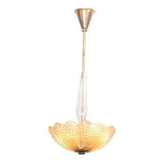Carl Fagerlund Chandelier for Orrefors For Sale