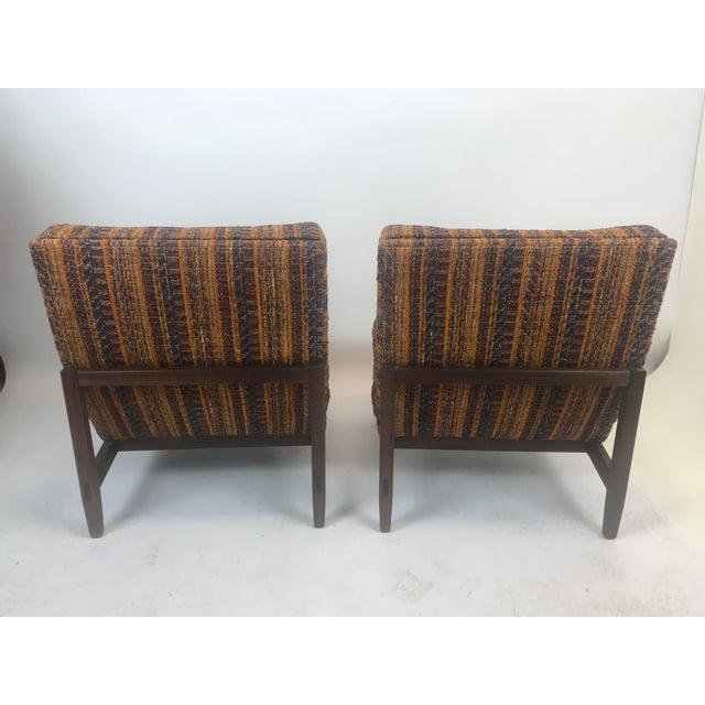 Early Florence Knoll Lounge Slipper Chairs - a Pair For Sale In New York - Image 6 of 12
