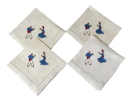 Image of Mid-Century Modern Table Linens