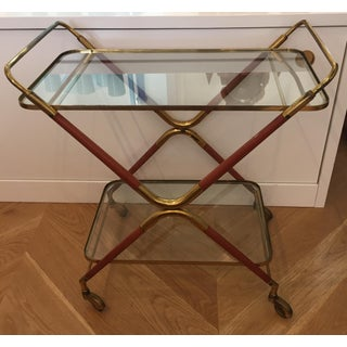 1950s Italian Cesare Lacca Bar Cart Server Preview