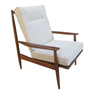 Selig Open Arm Lounge Chair