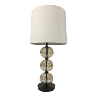 West Elm Glass Ball Table Lamp