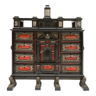 17th Century Antwerp Cabinet For Sale