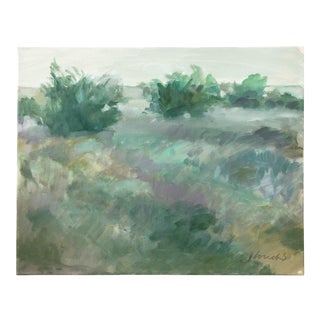 Contemporary Impressionist Landscape Painting by Jay Loucks For Sale