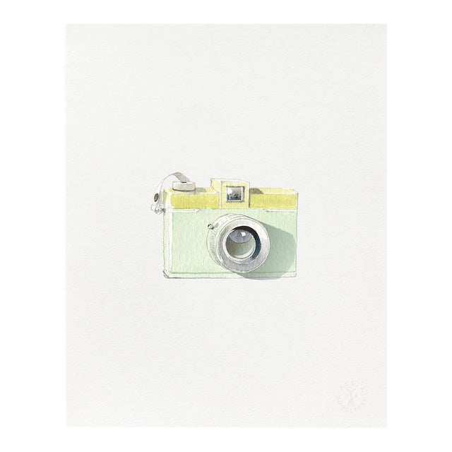 """Retro Camera"" Giclée Art Print by Felix Doolittle - 8x10 For Sale"