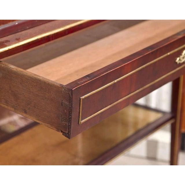 Maison Jansen Style Mahogany Vitrine - Image 6 of 8