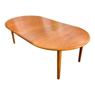 Danish Teak Dining Table by Laurits M. Larsen For Sale