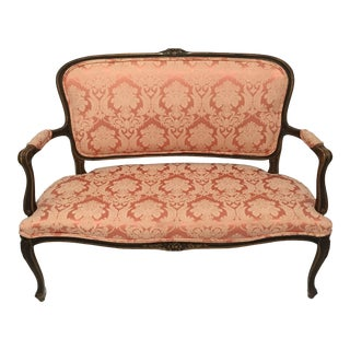 Antique Louis XV-Style Settee For Sale