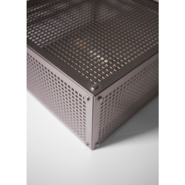 Modern Contemporary 001 Flush Mount in Nickel by Orphan Work For Sale In New York - Image 6 of 10
