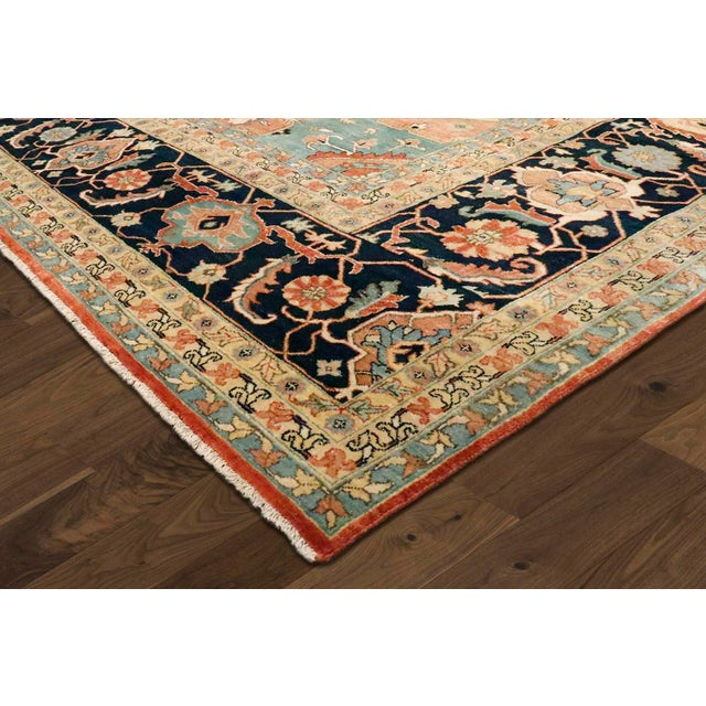 "Modern Pasargad Serapi Collection Wool Area Rug, 9'1"" X 12'1"" For Sale - Image 4 of 5"