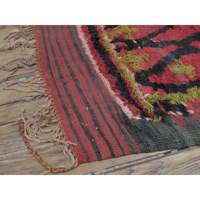 1950s Ait Bou Ichaouen Moroccan Berber Carpet For Sale - Image 5 of 10