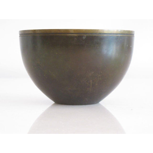 1940s 1940s Modern Just Andersen Bronze Bowl For Sale - Image 5 of 6