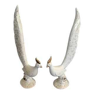 Mid-Century Bird Figurines - A Pair
