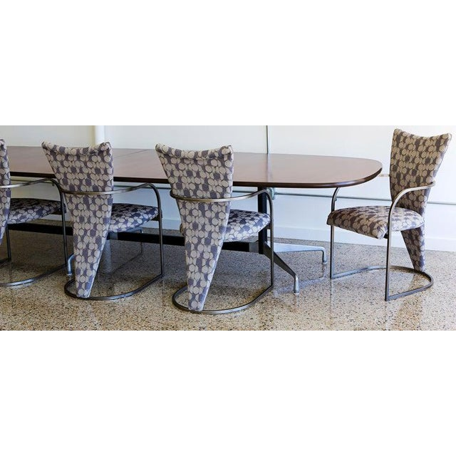 Dining Chairs, Set of 4, by Design Institute America, Midcentury, Reupholstered For Sale - Image 12 of 13