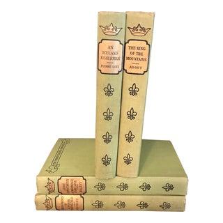 Moss Green Books - Set of 4
