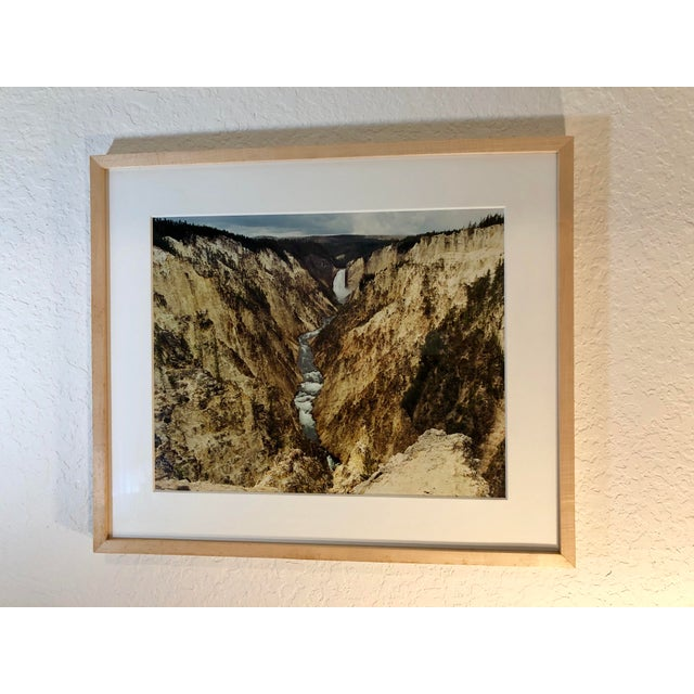 1980s Vintage Original Waterfall Photograph by Willy Skigen For Sale In West Palm - Image 6 of 13