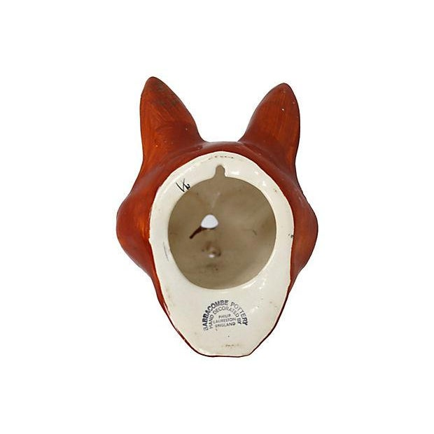 Figural Fox Mounted Wall Twine Holder - Image 3 of 4