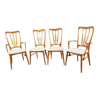 Koefoeds Hornslet Mid-Century Danish Teak Chairs - Set of 4