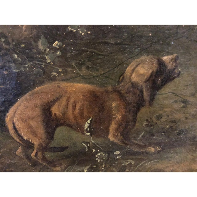 Late 19th Century Antique Karl (Carl) Reichert Victorian Oil Painting For Sale - Image 10 of 13